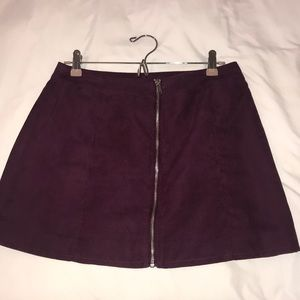 H&M ZIP Skirt